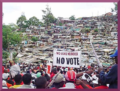 Abahlali no vote