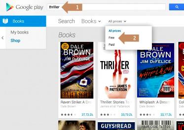 google play free books