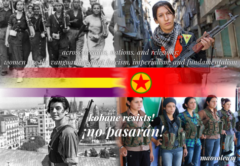 Image result for anarchist feminist in rojava