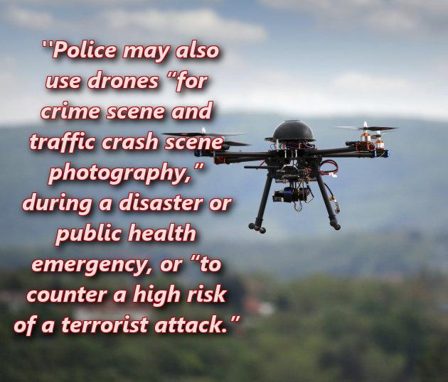 cop drones