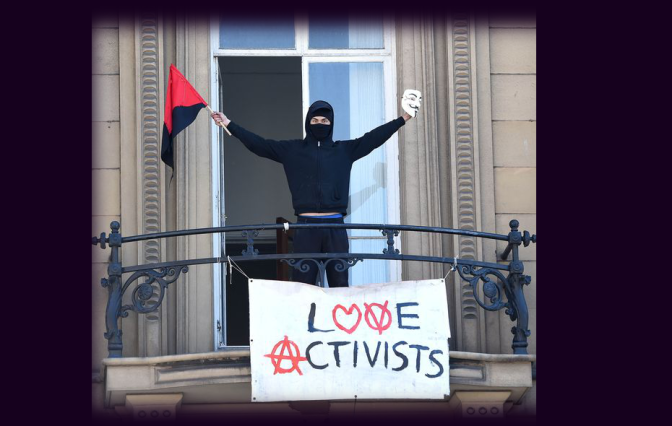 Bank of England 'Love-Occupiers' still Resisting