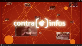 Contrainfos 103.. Barcelona based video mag
