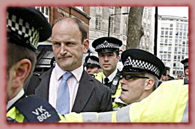 "Carswell, the new far-right MP  told the corporate press: ""Out of nowhere a mob, over 100 strong, and it got incredibly nasty.''"