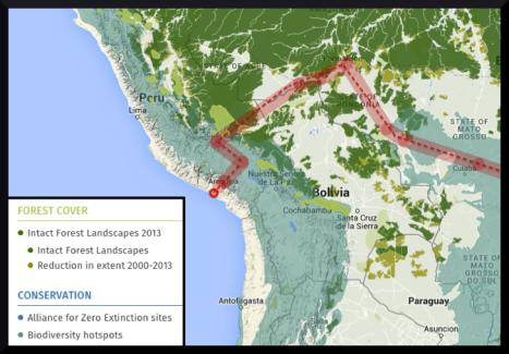 trans amazon railway plan
