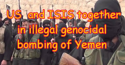 IS  and US in Yemen