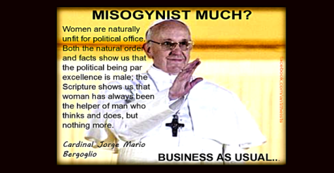 misogynist pope