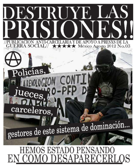 Example of a Mexican Anti Prisons Poster
