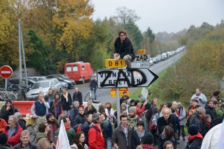 The ZAD ( Zone to be Defended) in Notre Dame de Landes continues to exist with mass support and block a useless speculation airport.