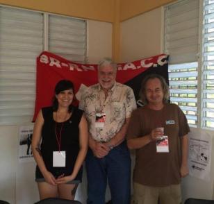 Anarquistas-cuban@s.Lisette-RosaNegra-e-Industrial-Workers-of-the-World.Miami-Frank-Fernandez-historiador-del-anarquismo-cubano.Miami-y-Dmitri-Taller-Libertario-Alfredo-Lopez.LaHabana-