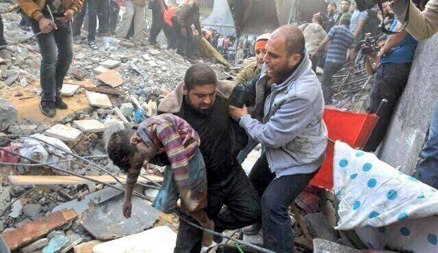 Gaza-destruction-and-death