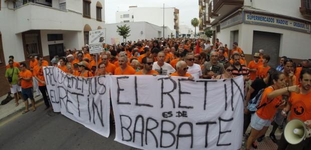 Manifestación-contra-el-Campo-de-Maniobras-del-Retín-