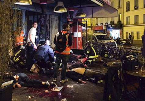 paris slaughter at restaurant
