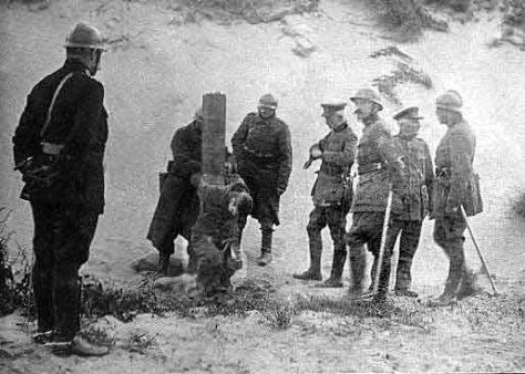 execution for desertion 1914