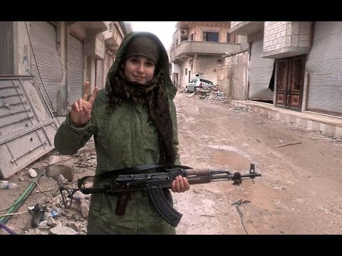 YPJ volunteer in Til Temir