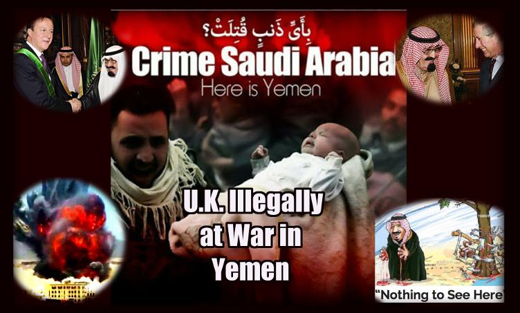 UK illegally at war in Yemen