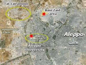 300px-Aleppo_Univ_map_Lairamoun_Banizaid