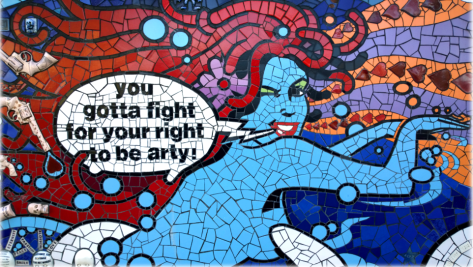 fight for your roght to be arty