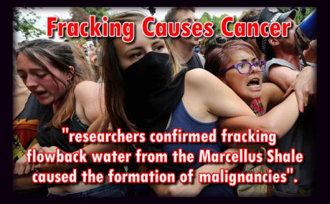 fracking causes cancer