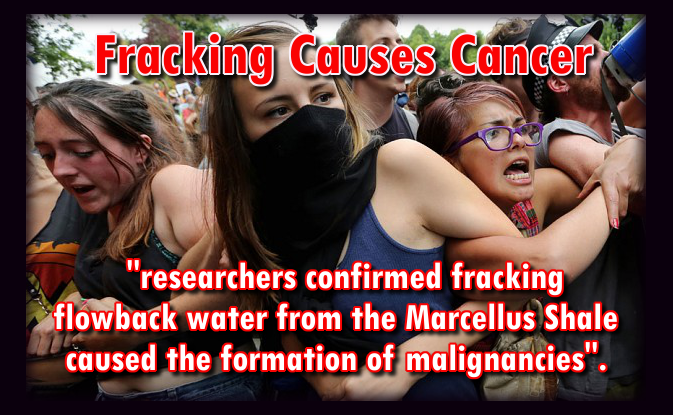 Fracking water causes Cancer: Here's the proof