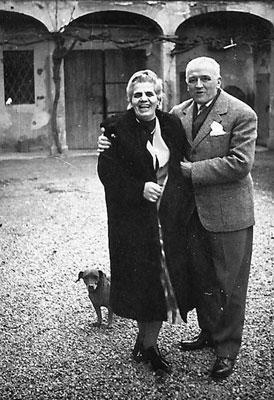 Emma Neri, Nello Garavini i el ca Kim (Castel Bolognese, 1961)