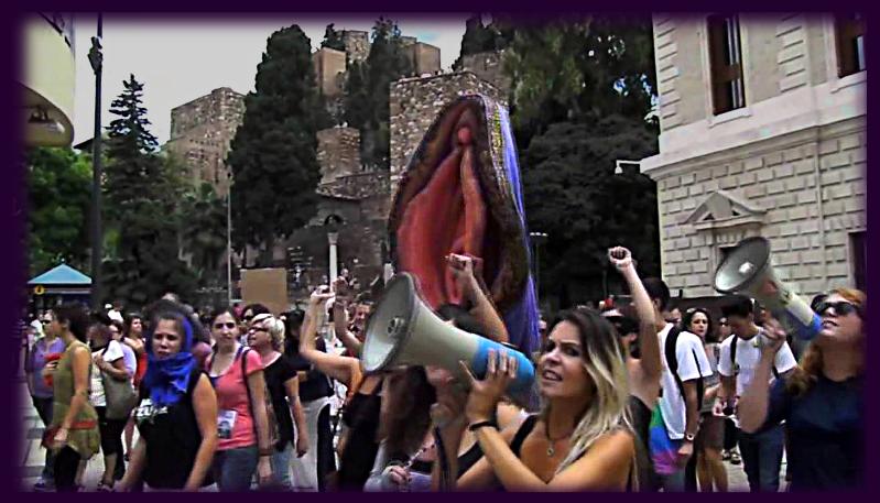 rebel pussy demos spread through Iberia