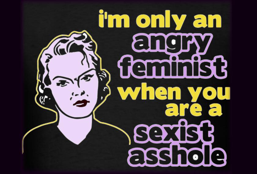 anrgry feminist