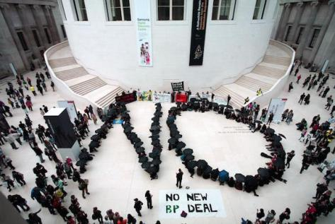 British-Museum-Oil-Protest