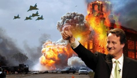 davdCameronUKbombingSyria