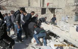 Aleppo-bombing-of-Kurdish-district-600x381