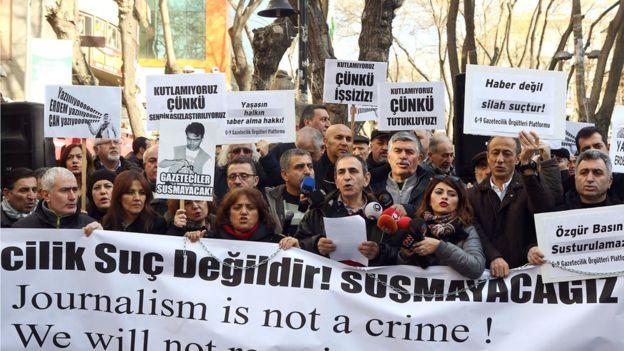 President Erdogan has censored or closed the media, jailed journalists for speaking truth, prosecuted hundreds for ''insulting him and continues a genocidaal war against the Kurdish minority.. while being courted and paid billions by the EU!