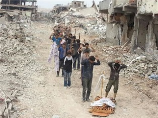 All they asked for was autonomous local government. Nusaybin is one of many Kurdish towns being wiped out on the orders of Erdogan, the darling of Europe.