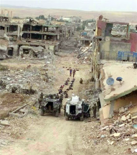 Nusaybin, May 2016, a new European city after a Turkish 'peacekeeping operation'.