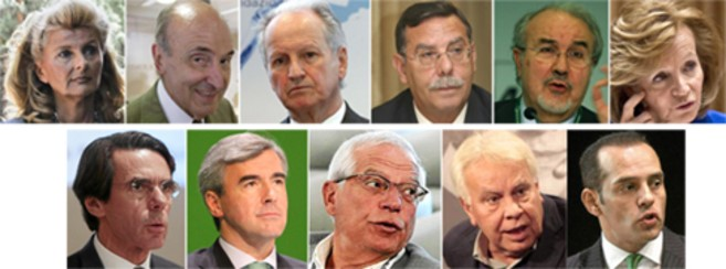 Some of the Spanish politicians who retired to mega salaries in honorary jobs in the Energy sector