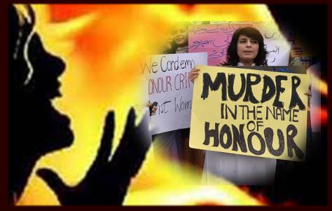 no honor in killing