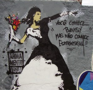 you've heard od banksy... but you haven't net Esperintina