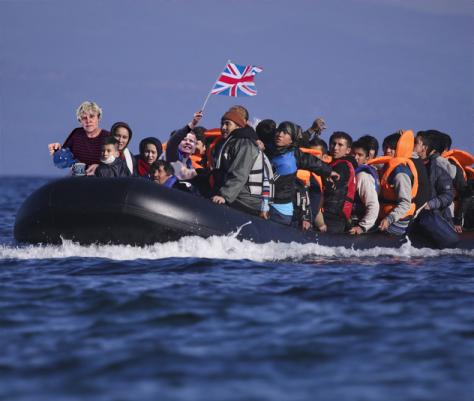 brit refugees flee to Ireland