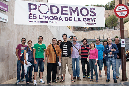 Podemos still promises a referendum on Catalan independence though a broad left coaalition would preclude this.