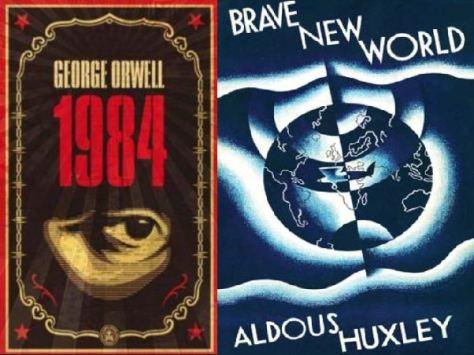 1984 brave new world