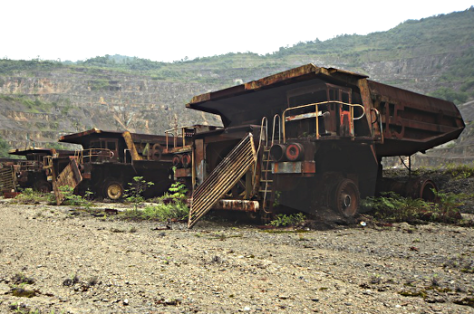 The History: Civil War in Bougainville was caused by mining , it devastated PNG's indigenous peoples and environment. Now the miners have ran away with the profits, paying no compensation and are selling remains to openly bribed PNG president