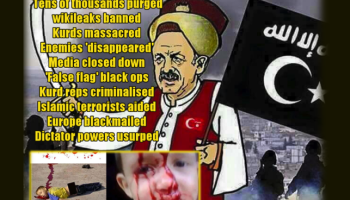 Erdoğan tries to Censor WikiLeaks. Emails go Online. Media gagged.10,000's arrested and fired