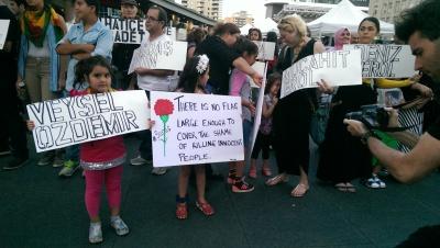 Toronto solidarity after Suruc massacre