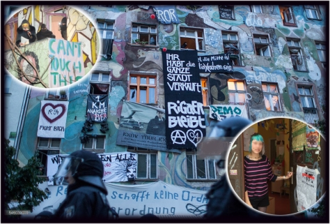 Rigaer 94 occupied center in Berlin symbolizes the struggle for a practical alternative to rampant insane predator capitalism