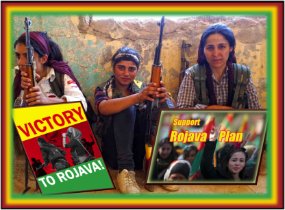 Rojava Revolution Plan: Organising and Funding Projects and Volunteers