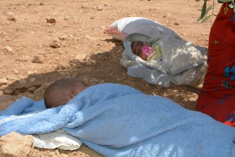 refugee children and babies are the most vulnerable