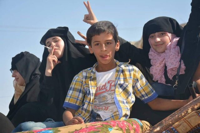 15/08/2016.Thousands of ISIS hostages passed from a medieval tyranny to a revolutionary and feminist area as Manbij fell to the SDF