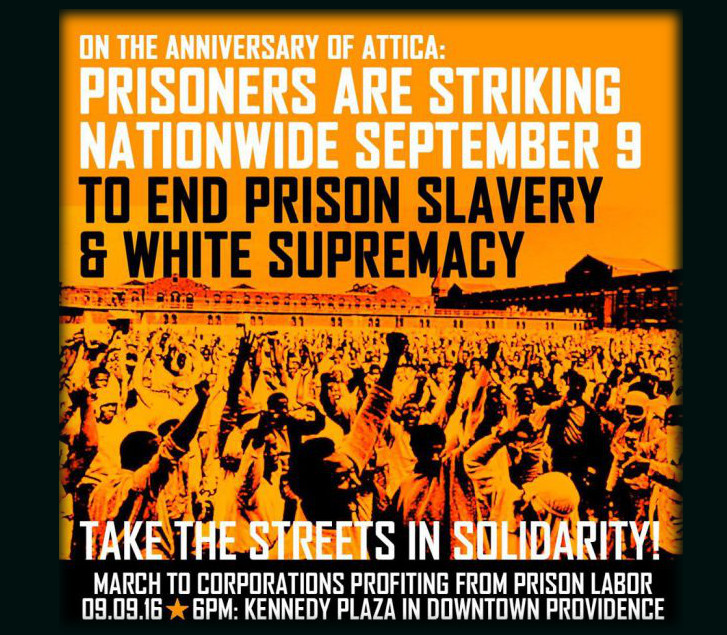 sept 9 2016 prisoners strike