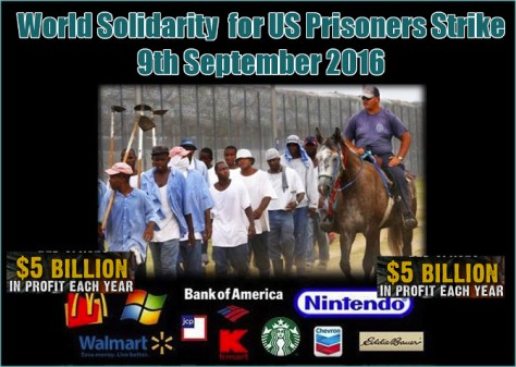 US Prisoners Strike Sept 19 2016