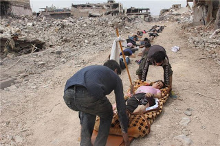 Genocide in Europe: Nusaybin surrenders after 74 days curfew..in total ruins and deafening silence