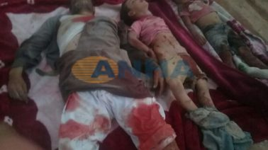 The occupying Turkish army continues attacking villages to the north of the Sajur River in northern Manbij. Turkish military forces and affiliated militias targeted dozens of villages in this area with artillery fire killing 35 civilians, torturing 3 SDF prisoners. 3 children and two other civilians lost their lives as a result of the artillery attacks targeting the village of Dandania.