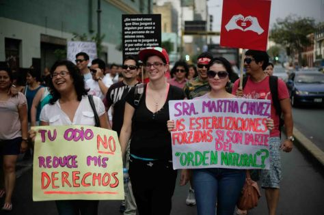 march against forced sterilisations